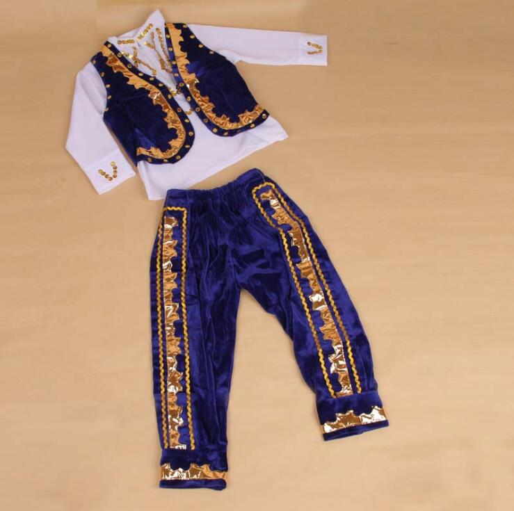 children's performing costumes children ethnic dance boys clothing-in Chinese Folk Dance from Novelty & Special Use    1