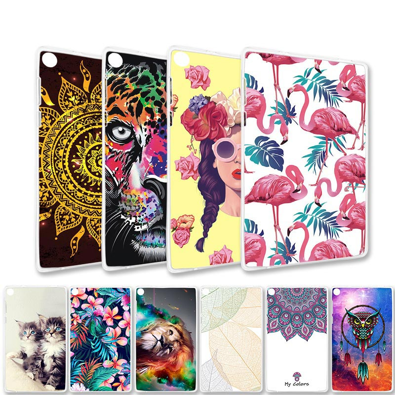 Painted Cases For <font><b>Lenovo</b></font> Tab 3 2 Phab 7 Plus A7-30 A7-20 A7 20F A10-<font><b>70</b></font> A8-<font><b>50</b></font> 710F Tab3 730F Tab2 Tablet Case Coque Bag Covers image
