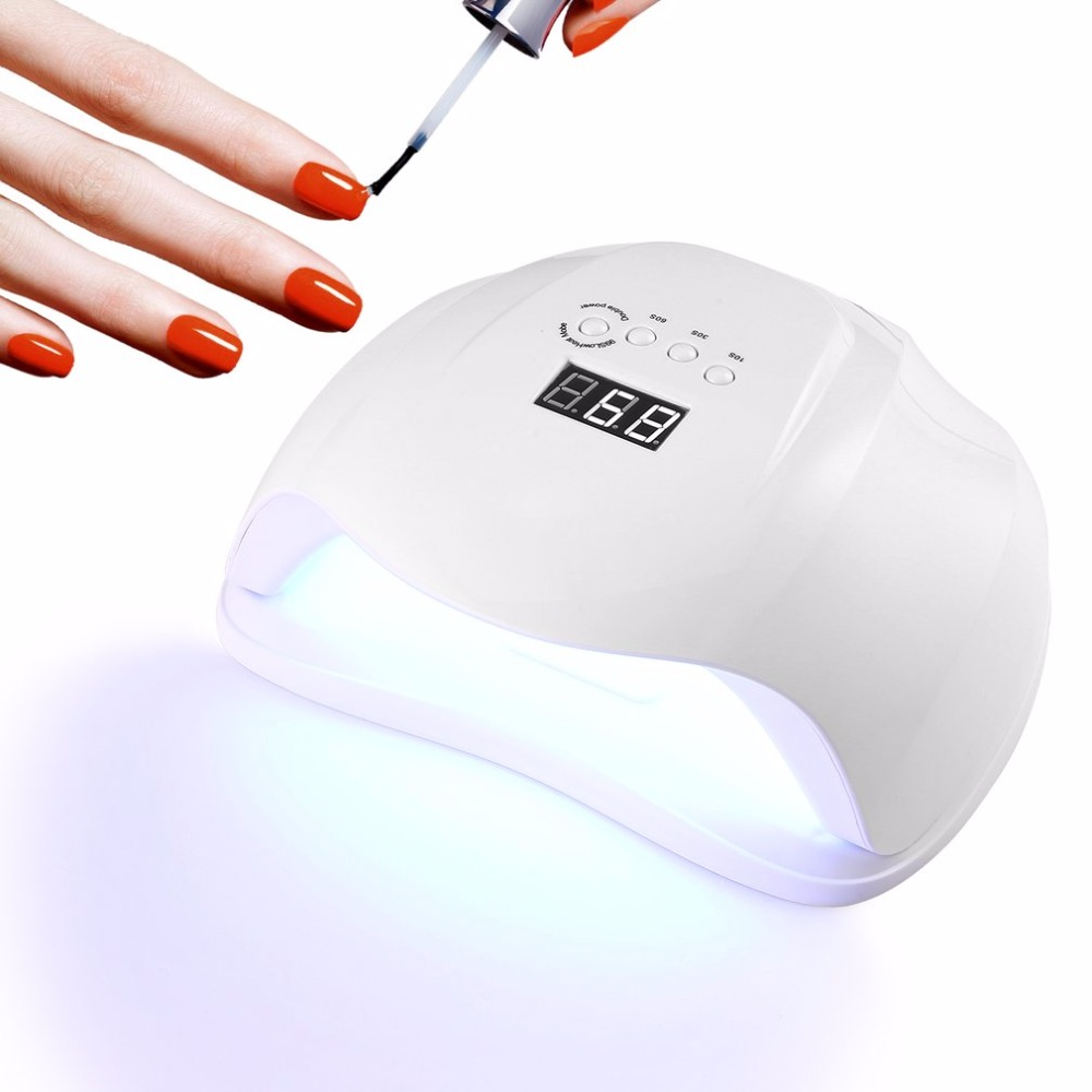 Pro Gel Polish LED Nail Dryer Lamp Motion Infared Sensor 36 LED/UV Curing Lamp with LCD Screen Timer Setting JP US EU UK Plug professional 48w led uv lamp for curing nail gel polish nail lamp for nail art tools with eu au us uk plug