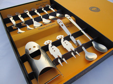 You and your family happy cutlery set Happy smiling face stainless steel tableware