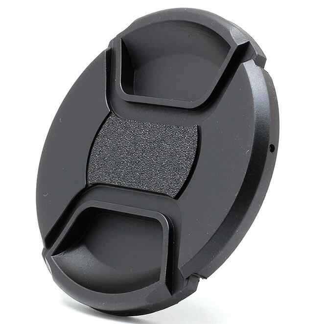 (3-in-1) 49 52 55 58 62 67 72 77mm Kamera Lens Değer Paketi: UV Filtre Ön Lens Kapağı + Lens Hood Boyutu seçin