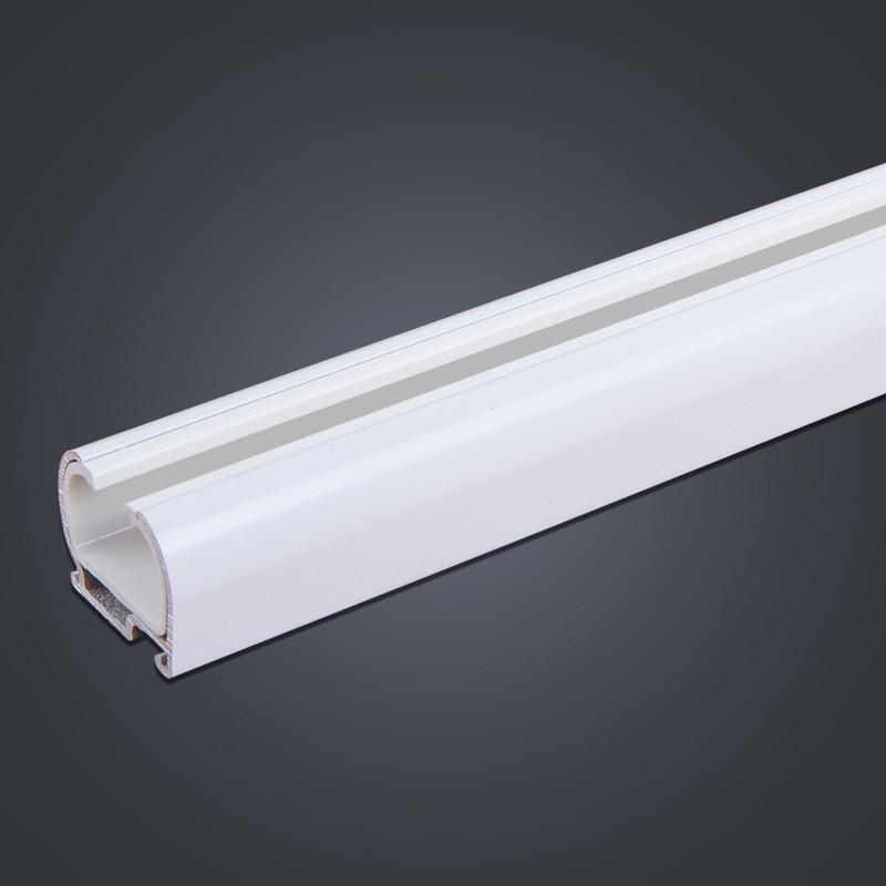 Aluminum curtain track mute straight rail accessories curtain rod ...