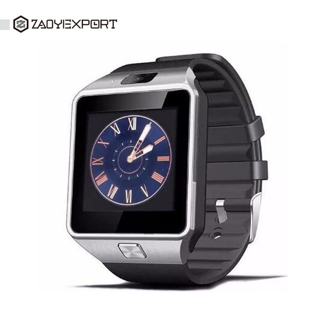 Zaoyiexport Беспроводные устройства dz09 Bluetooth Smart Watch для Android Phone Support smi/TF Мужчины Женщины наручные Спорт Touch часы