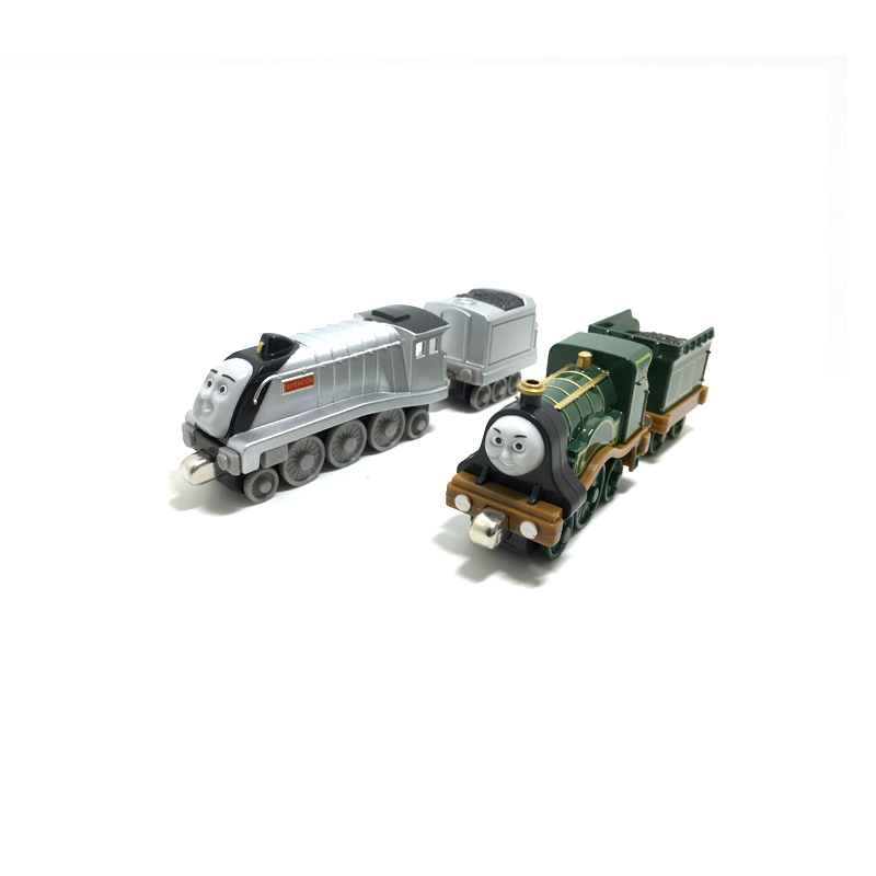 T0157 Diecast Magnetic THOMAS and friend spencer and Emily The Tank Engine take along train metal children kids toy gift