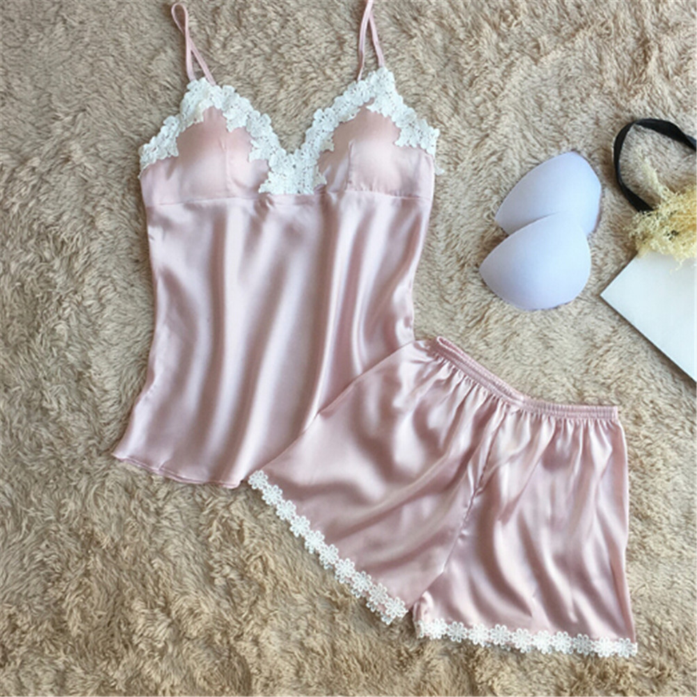 c4632025856 Intimates   Sleep Size (Women `s) M L XL Pattern Solid Country Region of  Manufacture  China Brand Unbranded Style Pajama Sets