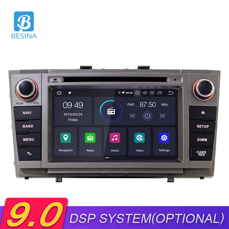 Besina <font><b>Android</b></font> 9.0 Car DVD Player For <font><b>Toyota</b></font> Avensis/<font><b>T27</b></font> 2008-2012 2013 Multimedia GPS Navigation Stereo 2 Din Car Radio WIFI image