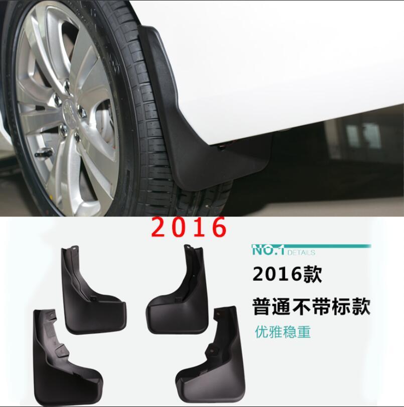Voiture-style cas Pour Peugeot 3008 2013-2015 2016 voiture style plastique fender doux garde-boue protection volets splash boue garde