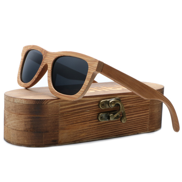 Ablibi marca diseñador UV gafas de sol de bambú hombres gafas de sol de madera  gafas 342104a2fe51