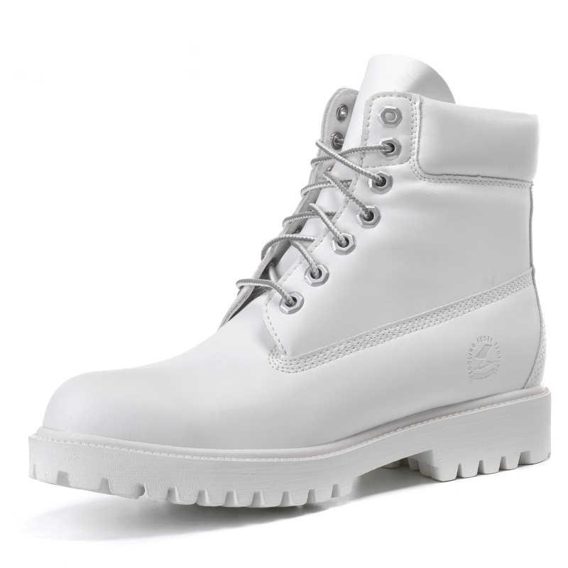 a0e6cb2bc92d Модные меховые белые повседневные женские Ботинки martin уличные зимние  женские zapatos Mujer timber ботильоны для отдыха