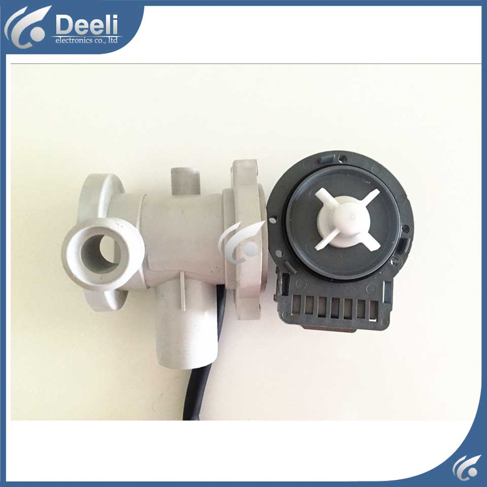 100% new for washing machine parts B20-6A = B20-6 drain pump motor good working set washing machine parts dxt 15f g 3 5a 250v 6 wires 6 8cm hole distant