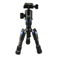 Details about Tripod BEXIN M225S ULTRA COMPACT Desktop Macro Mini Tripod Kit with Ball Head
