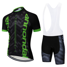 2019  Summer Pro Item Cycling jersey Bicycle Clothing Maillot Ropa Ciclismo MTB Bike Clothes Sportswear Suit Black