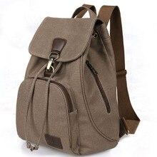 2016 новый свободного покроя женщин Dailyl рюкзак брезентовый мешок студент школьный ретро шнурок мешок мужские путешествия рюкзаки GHb033
