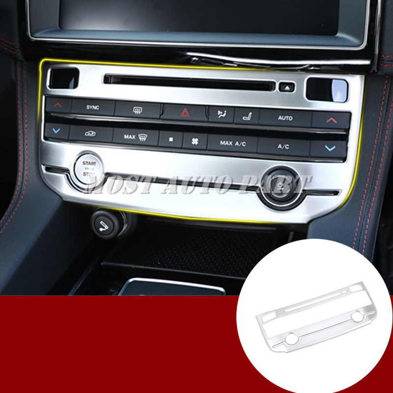 Inner Console Air Condition Button Cover Trim For Jaguar F