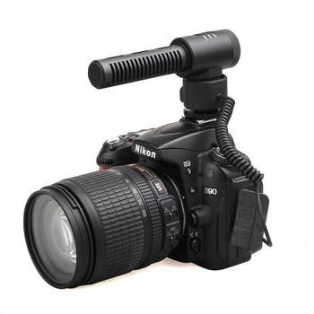 COMICA CVM-V20 Full Metal Directional Shotgun Video Microphone Interview Microphone with Shock-Mount for DSLR Camera, Camcorder