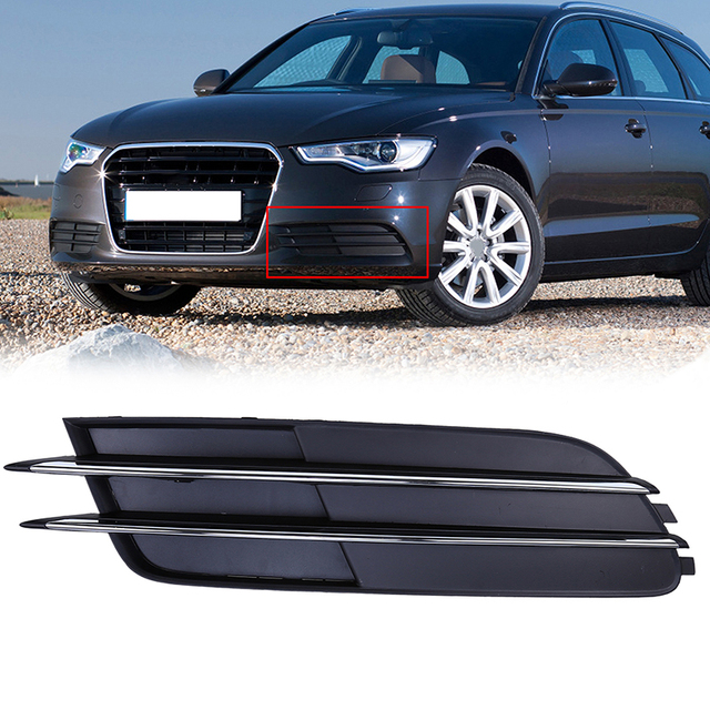 Replacement Car Styling ABS Front Lower Grille Fit For