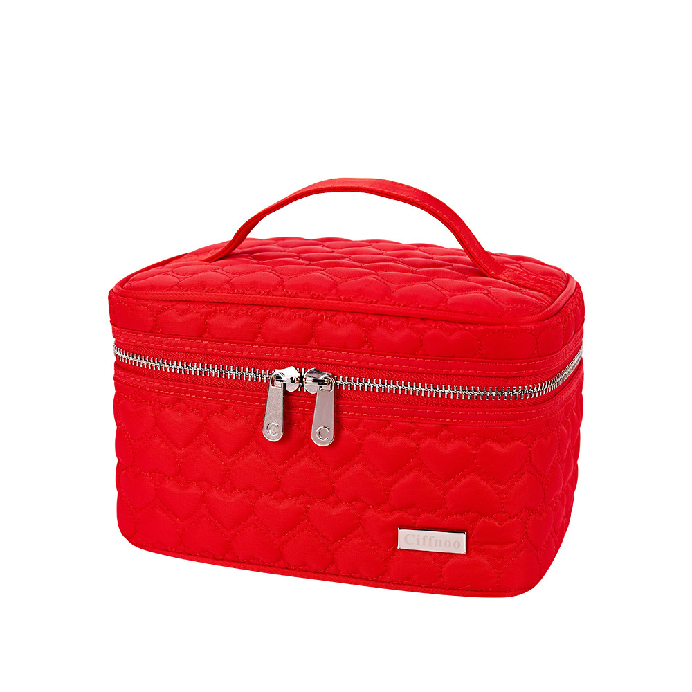 Makeup Bag Women Portable Cosmetic Bag High Quality Professional Fashion Travel Makeup Suitcase Organizer Makeup Box Pouch Bag new women fashion pu leather cosmetic bag high quality makeup box ladies toiletry bag lovely handbag pouch suitcase storage bag