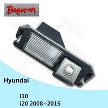 Для hyundai i10 i20 2008 ~ 2018 Автомобильная камера заднего вида HD CCD ночное видение Обратный Парковка резервного копирования камера NTSC PAL