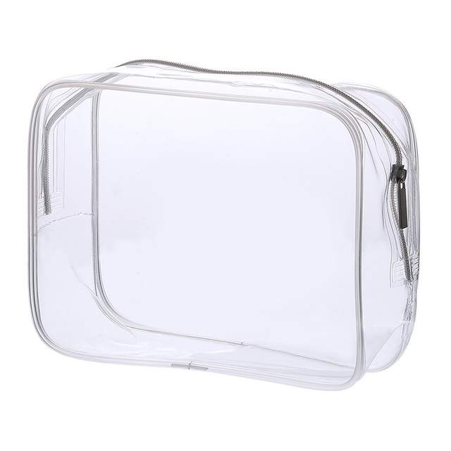 39aa3987fae8 Transparent PVC Bags Travel Organizer Clear Makeup Bag neceser Cosmetic Bag  Beauty Case Toiletry Make Up Pouch Bath Wash Bags