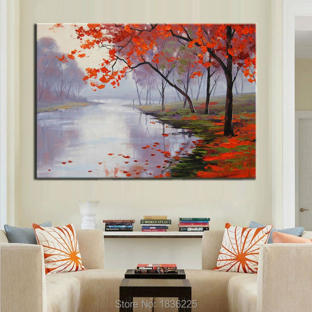 Pinturas modernas de casas lienzo de pintura moderna casa for Pinturas interiores de casas modernas
