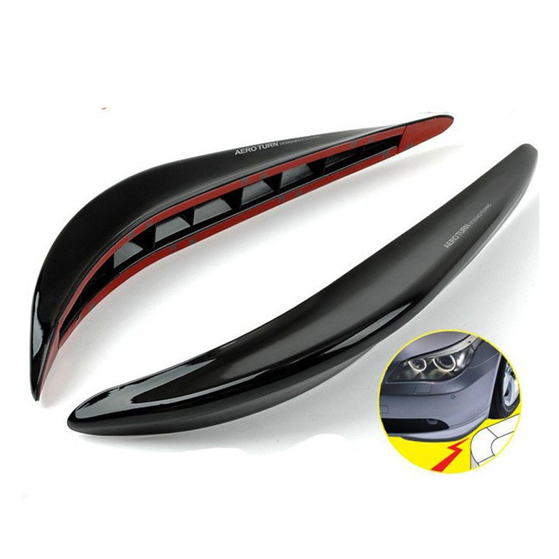 Front Rear Bumper Sticker Carbon Fiber Rubber Front Rear Bumper Edge Protector Corner Guard Anti rub Scratch Sticker RS3 LKT014 in Car Stickers from Automobiles Motorcycles