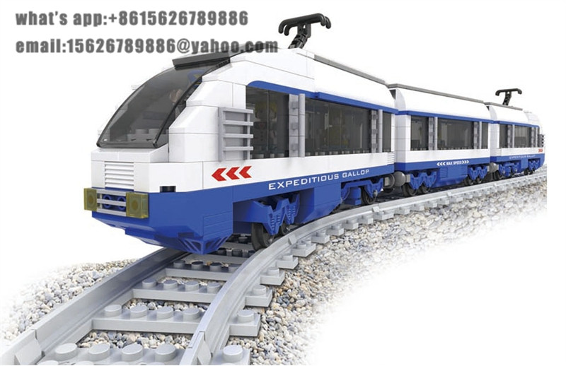 Ausini Model building kits compatible with lego city train 717 3D blocks Educational model & building toys hobbies for children ausini model building kits compatible city train 426 3d blocks educational model