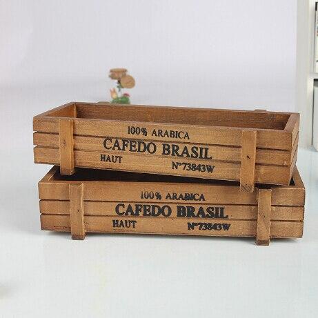 Wood bin promotion shop for promotional wood bin on for Vintage wooden storage boxes