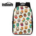 Dispalang Animal Printing Computer Backpacks Cute Owl School Bags For Teenagers College Students Laptop Shoulder Bag Mochila