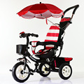 Baby Stroller Activity & Gear Mother & Kids Multi-functional awning kids tricycle whole sale hot 2016 fashion 3C certification