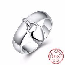 Женское романтическое кольцо lekani свадебное в форме сердца