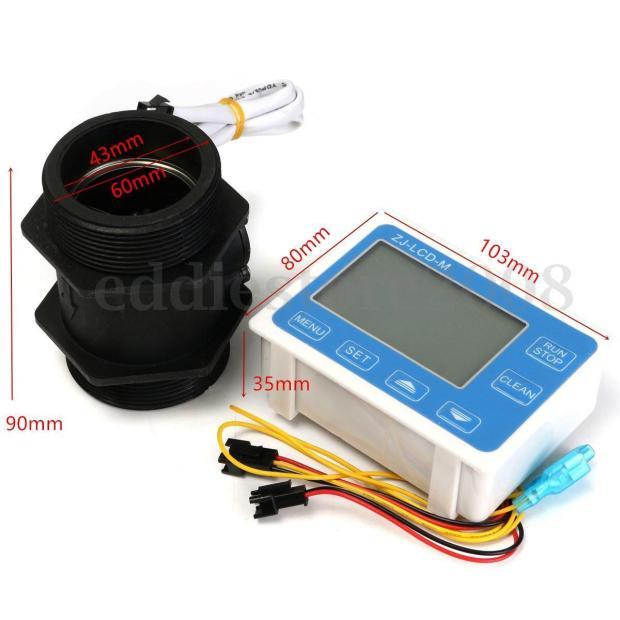 Digital Display Flowmeter, Large Flow Meter, Flow Sensor Turbine FlowmeterDigital Display Flowmeter, Large Flow Meter, Flow Sensor Turbine Flowmeter