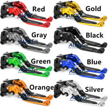 For Yamaha YZF R62005-2016/ YZF R12004 2005 2006 2007 2008  CNC Adjustable Motor Folding Extendable Clutch Brake Levers A Pair