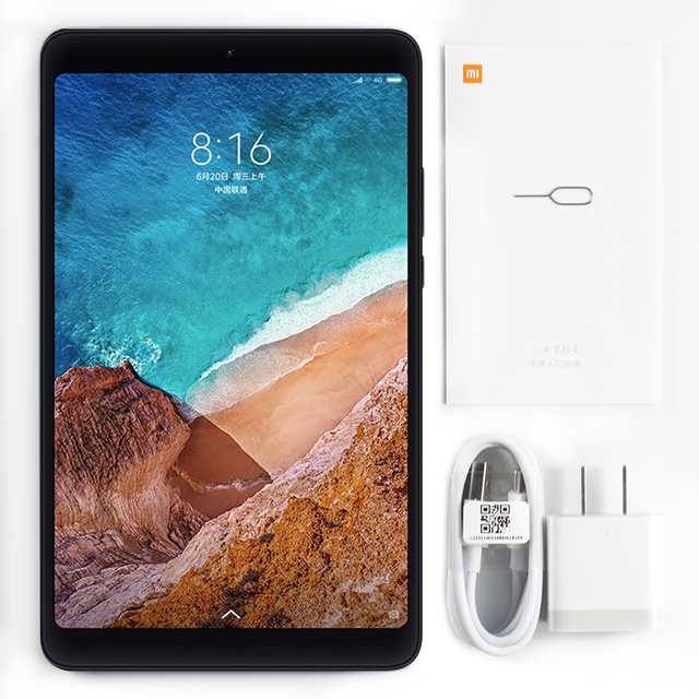 Xiaomi Mi Pad 4 Tablet PC 8.0 Inch MIUI 10 Snapdragon 660 Octa Core 32GB/64GB 5.0MP+13.0MP Front Rear Camera Dual WiFi 4