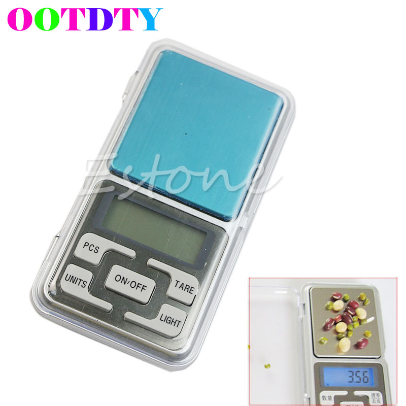 1PC Pocket 500g x 0.01g Digital Scale Tool Jewelry Gold Balance Weight Gram APR11 pocket 0 1 500g digital balance food flour weight scale kitchen measuring spoon 2 x aaa