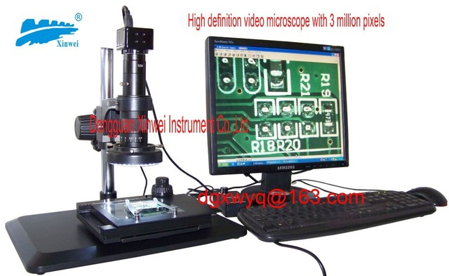 Usb hd video mikroskop mit drei millionen pixel präzision mobile