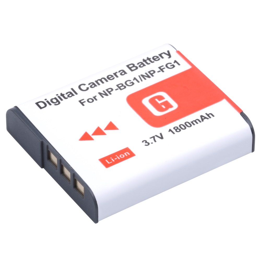 NP-BG1 NP BG1 NPBG1 Digital Camera Battery For Sony CyberShot DSC-W30 W35 W50 W55 W70 W80 WX1 WX10 HX9V H10 H20 H70 H50 H55 H90