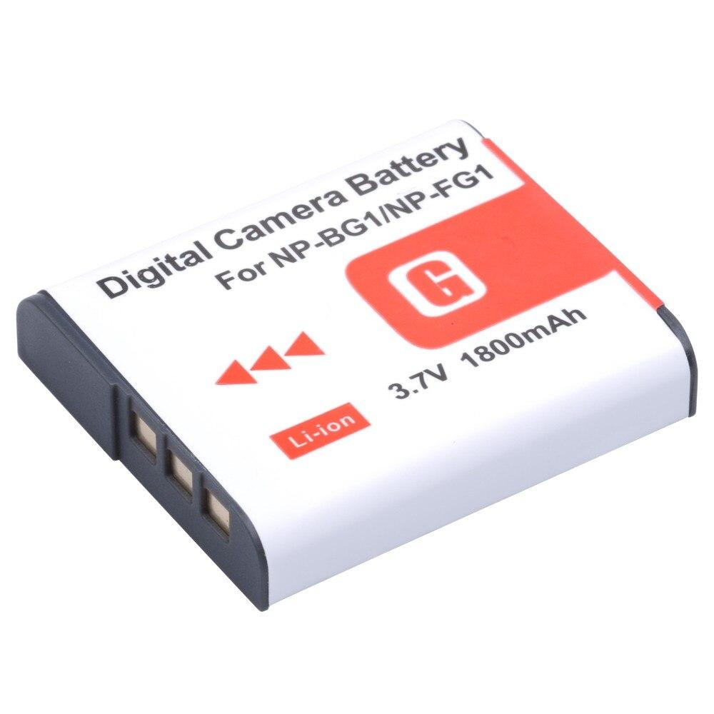 NP-BG1 NP BG1 NPBG1 cámara Digital batería para Sony CyberShot DSC-W30 W35 W50 W55 W70 W80 WX1 WX10 HX9V H10 h20 H70 H50 H55 H90