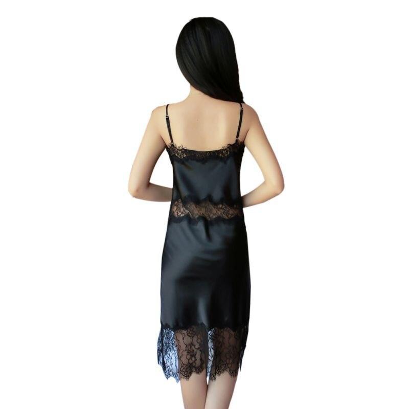 2017 Sexy Lace Underwear Nightwear Sleepwear Womens Sexy Nightgown Slim Casual Nightgowns