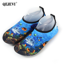 2018 QEJEVI Aqua Shoes Summer Water Shoes Breathable Sneaker For Men Women Beach Shoes Yoga Swimming Slip-on Sneakers