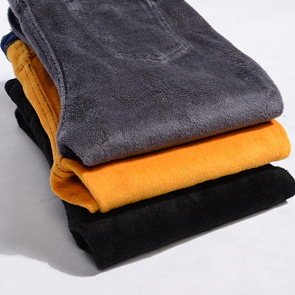 Plus Velvet Thicker Women Jeans High Waist Trousers Winter Warm Pants Female Stretch Denim Jeans Pants Skinny Pencil Pants