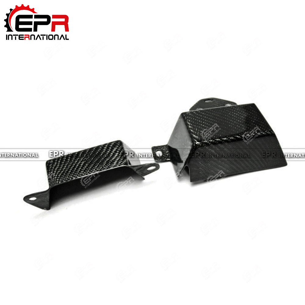 For FT86 Carbon Fiber Cusco Style Belt Cover 2pcs Glossy Fibre Finish BRZ GT86 Engine Body