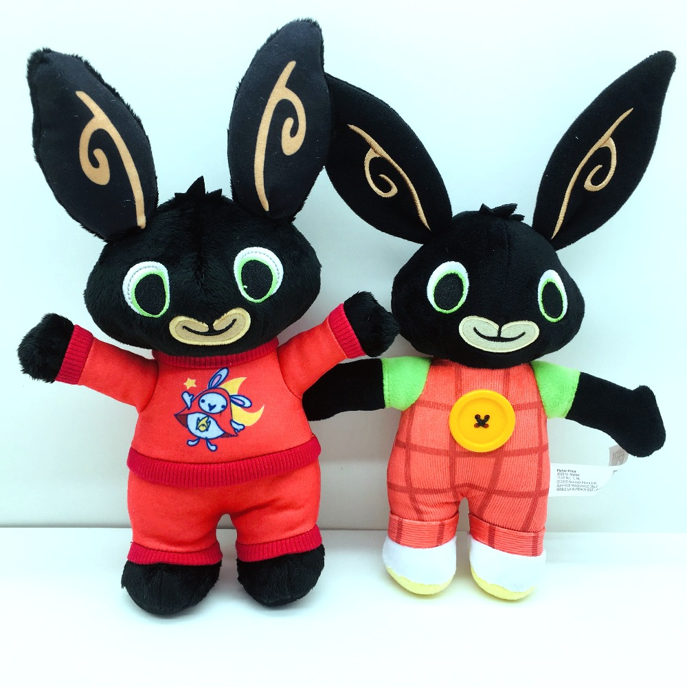 Bing Bunny Rabbit Plush Toy  Panda Elephant Stuffed Animal Soft Doll Toys For Children Gifts