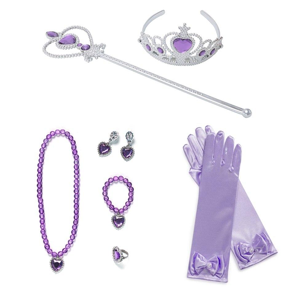 Purple 9 Pcs Set