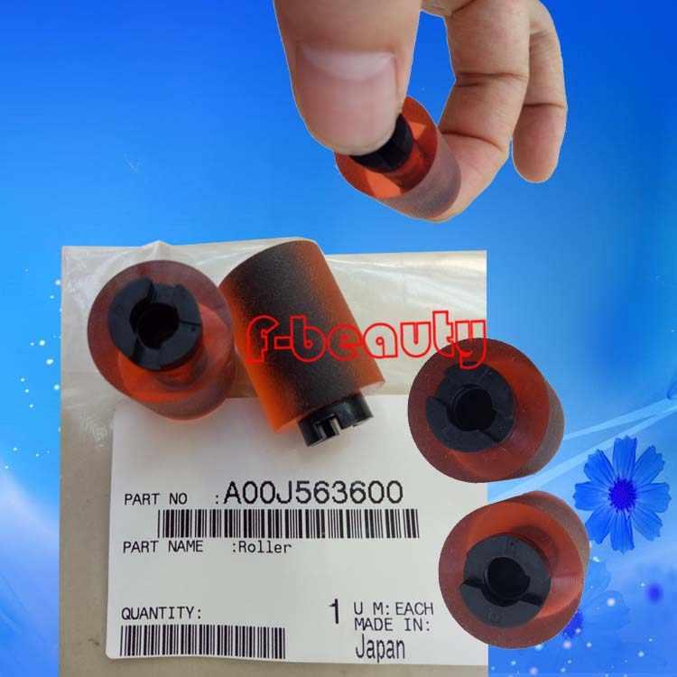 Asli Baru A00J563600 Pickup Roller Untuk KONICA C200 C203 C253 C220 C353 C360 C280 C451 C452 C550 C552 C650 C652 Pakan Roller