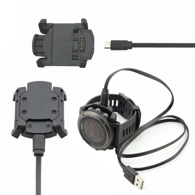 for Garmin Fenix 3 Sasfety Data Sync Cradle Dock Desktop USB Fast Charging  Clip Charger for Garmin Fenix 3 Smart Watch