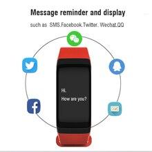 pedometer Fitness tracker smart Bracelet call reminder smart wristband blood pressure heart rate smart watch sport smart Band
