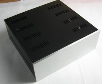# 4316 Aluminum enclosure / amplifier case/ Power supply chassis DIY box/size;430*160*410mm