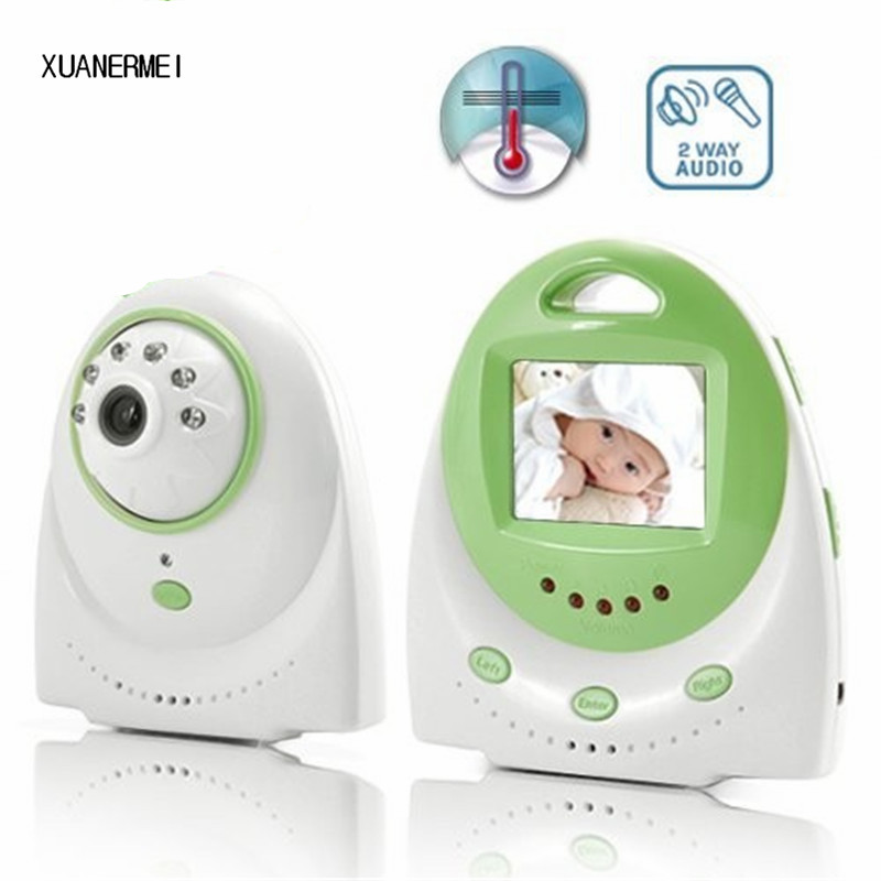 Xuanermei 2.4 inch Digital Baby Electronic Monitor Support 2-way Talk Nightvision Wireless Radio Nanny Babysitter