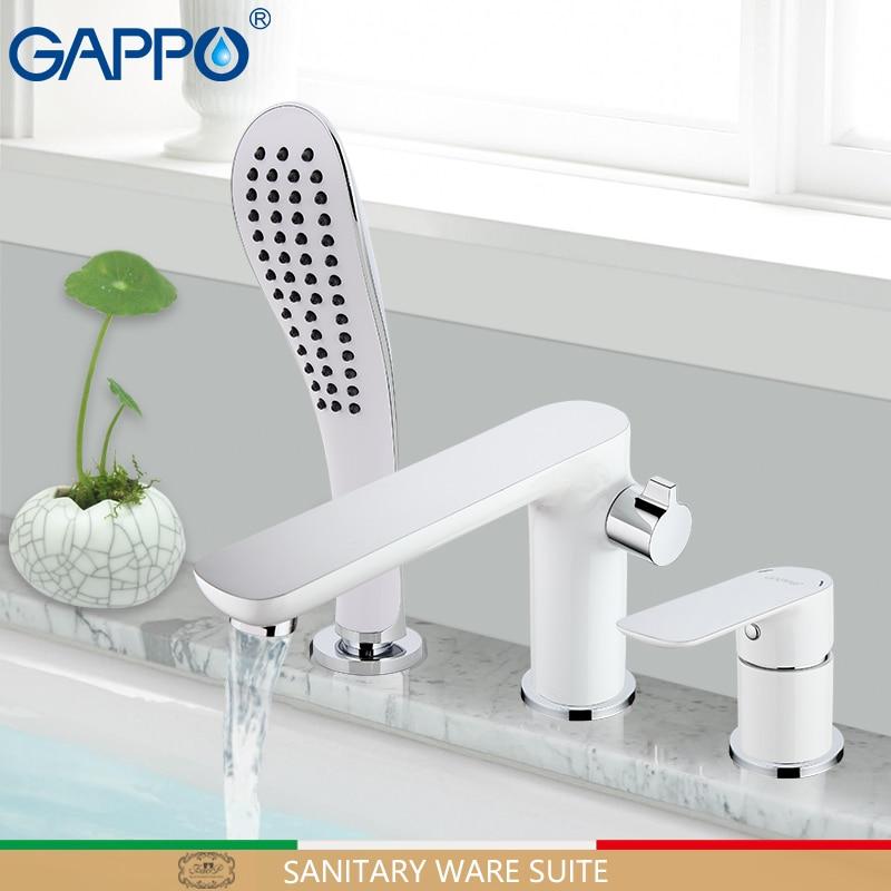 GAPPO bathtub faucet bathroom faucets deck mounted mixer waterfall faucet basin sink kitchen mixer tap faucets смеситель gappo g1041