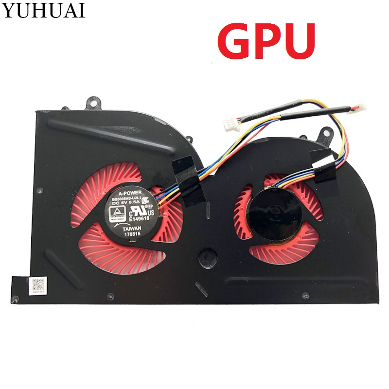 Original New for MSI GS63VR GS73VR Stealth Laptop CPU Cooling Fan BS5005HS-U2F1